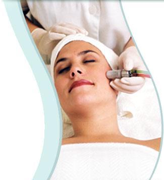 Microdermabrasian treatment at Vitality laser spa boca raton