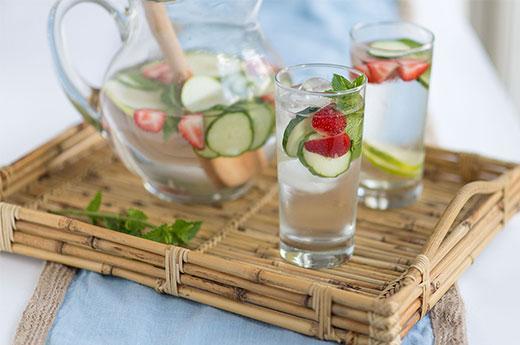 agua frutas